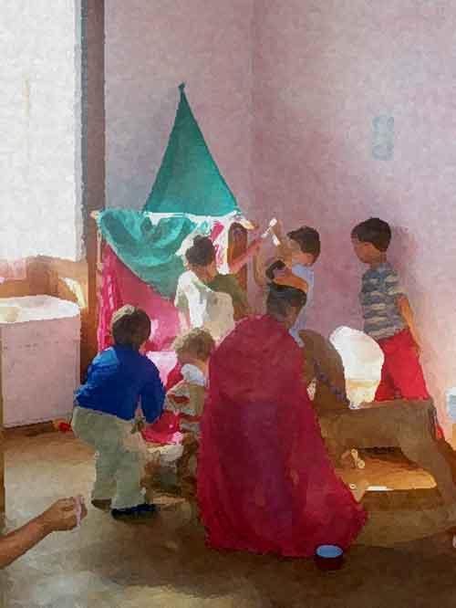 juegos-en-aula-interior-de la-escuela-infantil-la-casa-del-sol-arucas