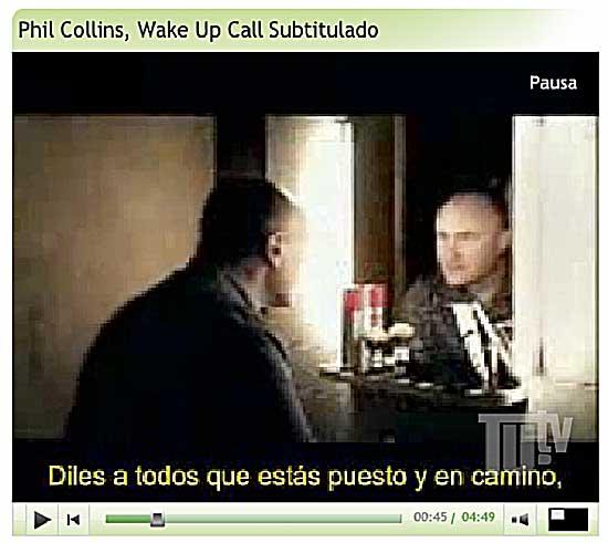 captura-videoclip-phil-collins-wake-up-call-despierta